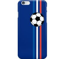 Football Stripes France iPhone Case/Skin