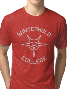 Winterhold College Shirt Tri-blend T-Shirt