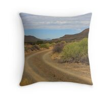 Green in Tankwa Throw Pillow