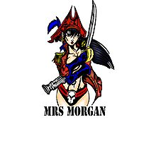 Mrs Morgan Photographic Print