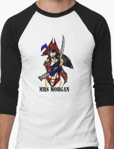 Mrs Morgan Men's Baseball ¾ T-Shirt