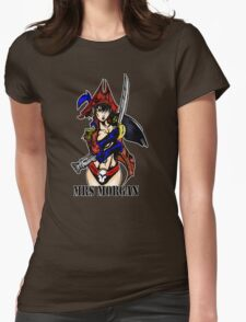 Mrs Morgan Womens Fitted T-Shirt