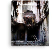 Surreal Demolition  Canvas Print