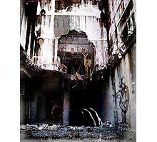 Surreal Demolition  Photographic Print