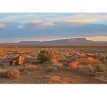 Sunset in Tankwa Photographic Print