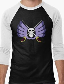 Baroque Works Jolly Roger Men's Baseball ¾ T-Shirt