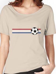 Football Stripes Netherlands Women's Relaxed Fit T-Shirt