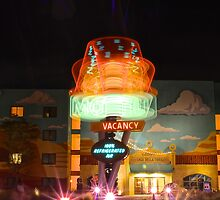 Dizzy Cone Motel by AtDisneyAgain