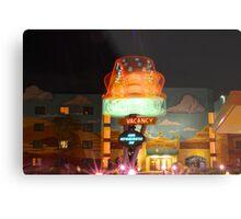 Dizzy Cone Motel Metal Print