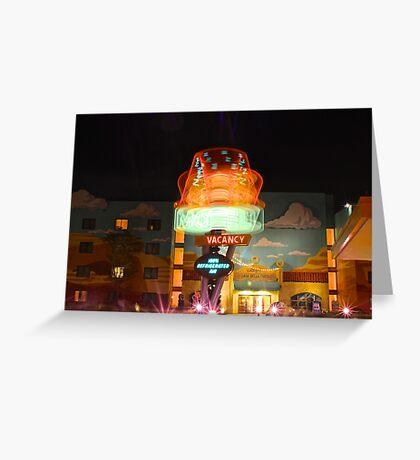Dizzy Cone Motel Greeting Card