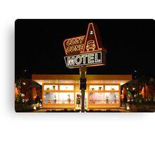 Cozy Cone Motel Canvas Print