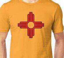 new mexico sun zia indian symbol Unisex T-Shirt