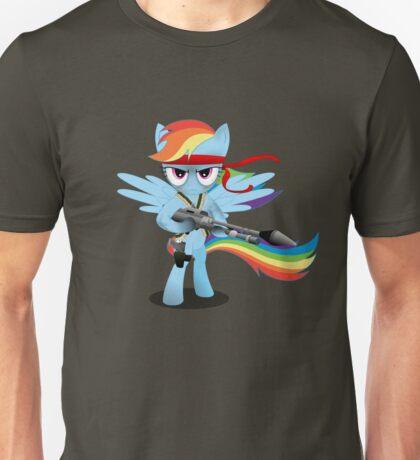 Gunner Rainbow Dash Unisex T-Shirt