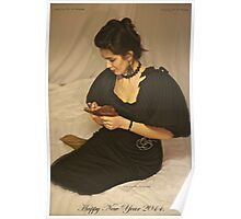 Sweet Dreams With Queen Adel. Happy New Year 2014. Tribute To Annie Lenox. Poster