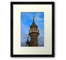 Behind these Castle Walls Framed Print
