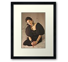 Crazy Little Think Called Love - Happy Happy New Year 2014. Framed Print
