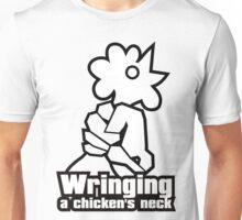 Wringing a chicken's neck Unisex T-Shirt