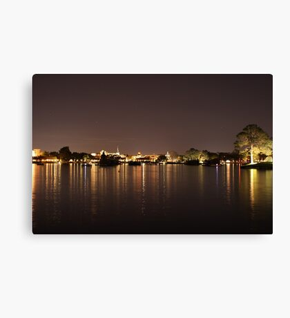 Night on Earth Canvas Print
