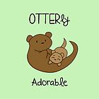 OTTERly Adorable!  by charsheee