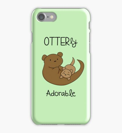 OTTERly Adorable!  iPhone Case/Skin