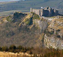Carreg Cennen Castle  by Nick Jenkins
