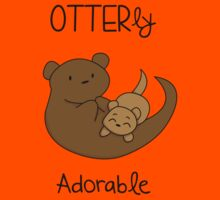 OTTERly Adorable! [Apparel & Transparent Stickers] Kids Tee