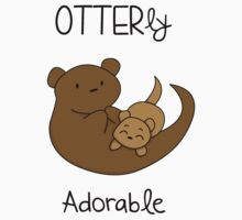 OTTERly Adorable! [Apparel & Transparent Stickers] by charsheee
