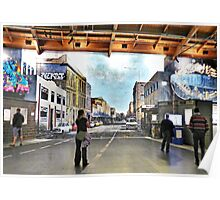 Walking the virtual streets of Christchurch  Poster