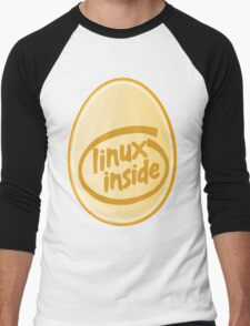 LINUX INSIDE Men's Baseball ¾ T-Shirt