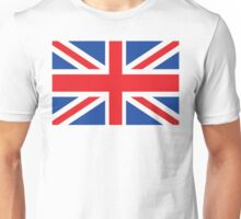 Lage British Flag Unisex T-Shirt