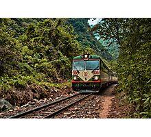 Inca Rail Macchu Pichu - Peru Photographic Print