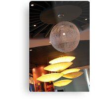Contemporary Lamp Metal Print