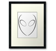 Alien 2 Grey Framed Print