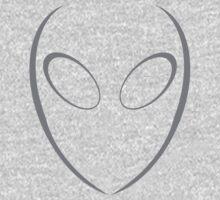 Alien 2 Grey Kids Clothes
