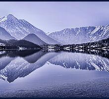 Lakes - Austria by Gwen Ford