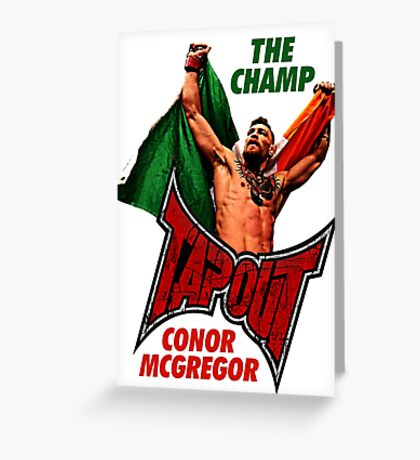 UFC CHAMP Greeting Card