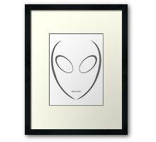 Alien 5 Grey Framed Print