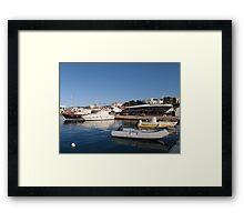 Boats In Santa Maria di Leuca Framed Print
