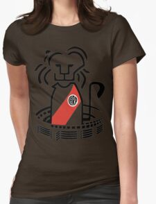 River Plate Lion Womens Fitted T-Shirt