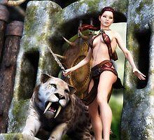 Prehistoric Princess by maraich