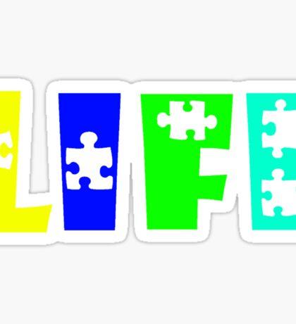 Life's Puzzle Sticker