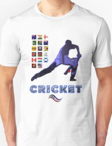 Cricket Team Squads Collectors T-Shirts sans Stickers T-Shirt