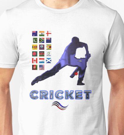 Cricket Team Squads Collectors T-Shirts sans Stickers Unisex T-Shirt