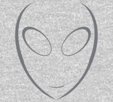 Alien 8 Grey Kids Clothes