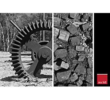 Buddle Gear and Bricks Photographic Print