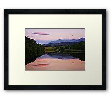 Calendonian Canal, Inverness, Scotland Framed Print