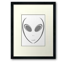 Alien 12 Grey Framed Print