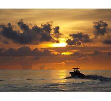 Gone Fishing Photographic Print