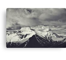 Cloudy Mountains IX Canvas Print