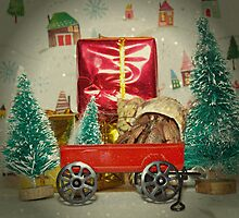 Hermit Wagon Christmas  by Skymall007